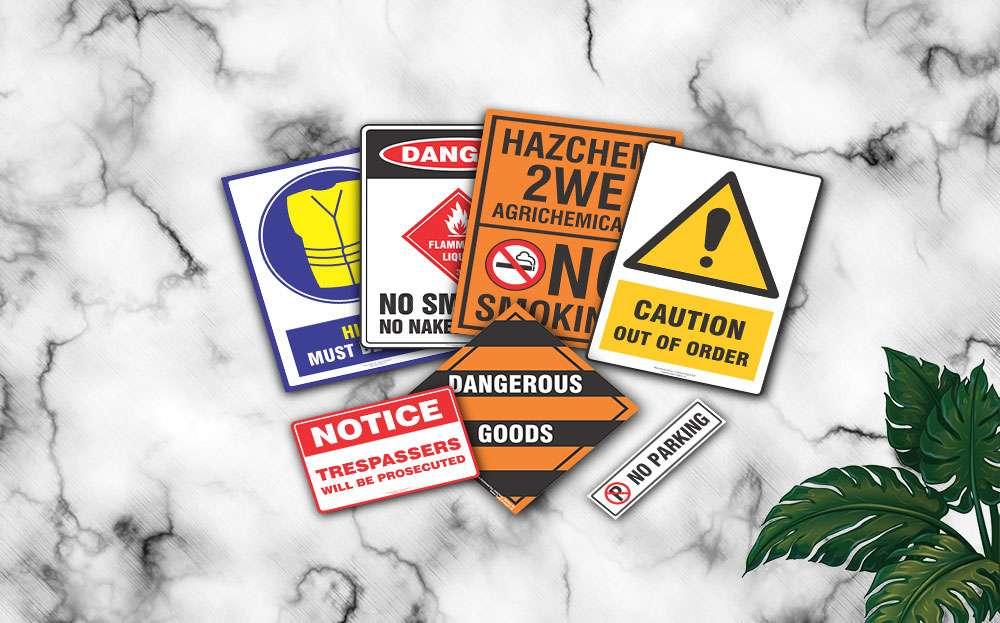 Hazard Signs Invercargill