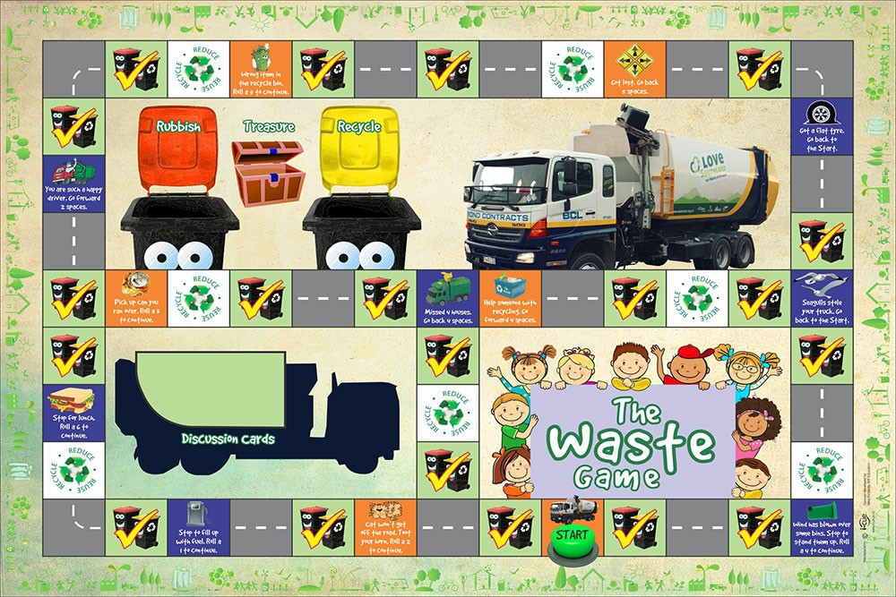 THE WASTE BOARD GAMES