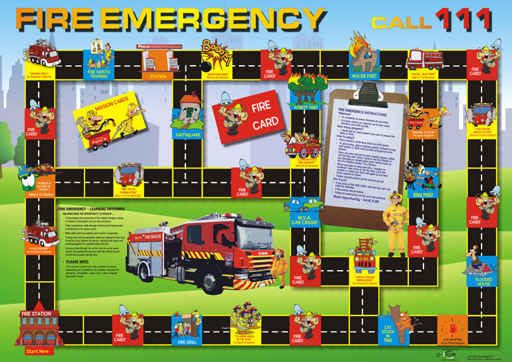 FIRE SERVICES BOARD GAMES