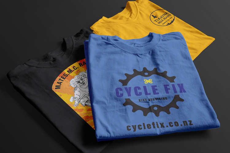 Printed t-shirts Invercargill